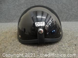 Dot Shell Motorcycle Helmet Model T-67
