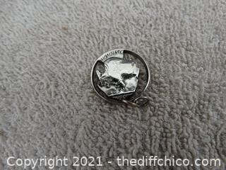 1936 Nickel Charm