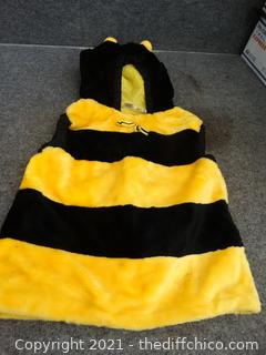 Bubble Bee Costume Kids Large
