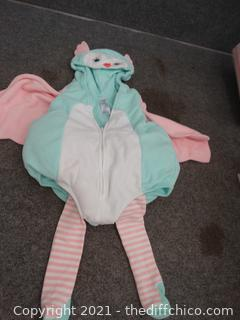 Carter Butterfly Costume 12 mo