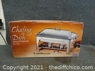 NIB Chafing Dish