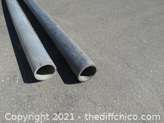 """2--- 4""""   X 8'  Sch 80  PVC"""