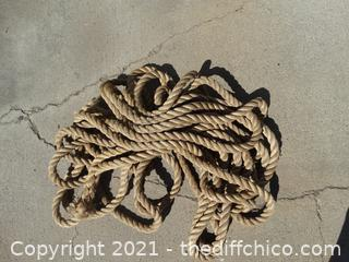 """1"""" Rope 77 ft"""