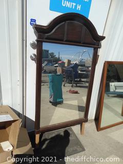 """Framed Mirror 51"""" x 29"""""""