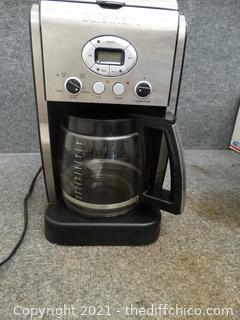 Working Cuisinart Coffee Maker