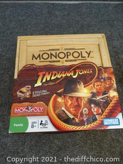 Indiana Jones Monopoly Game