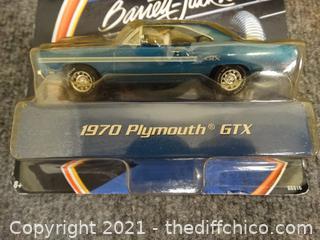 NIB Matchbox Barret Jackson 1970 Plymouth GTX