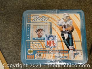 Sealed Retro NFL 1999 Football Cards Dolphins