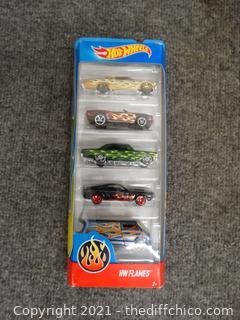 Hot Wheels Pkg Of Cars