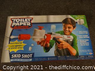 Toilet Paper Blaster NIB