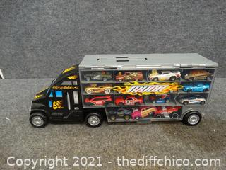 Toy Truck with Cars
