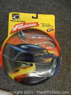 Sealed Hot Wheels Frisbee