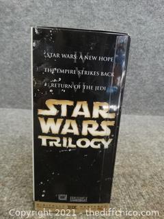 Star Wars Trilogy VHS SET