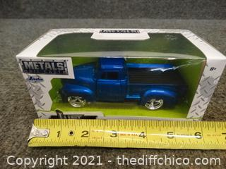 NIB Metals Die Cast 1953 Chevy Pick Up Just Trucks