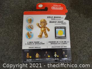 Nintendo Mario Gold