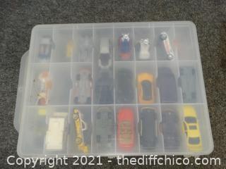 Cars in Organizer