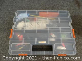 Fishing Case  With Content