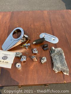 MOTORCYCLE VARIETY PARTS LOT! NEW & LIKE NEW ITEMS!