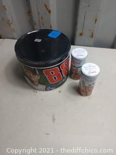 Collector tins