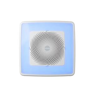 ($179) ChromaComfort 110 CFM Ceiling Bathroom Exhaust Fan with Sensonic Stereo Bluetooth Speaker