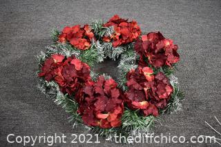 17in Dia Christmas Wreath