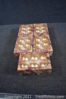 5 Boxes of Ornaments