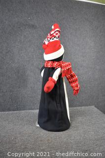 39in tall Christmas Penguin