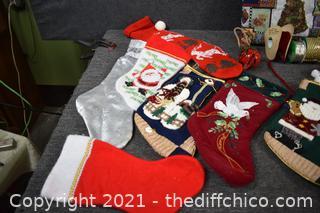 Christmas Stockings and More