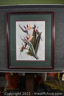 Framed Signed and Number Print - 32/200
