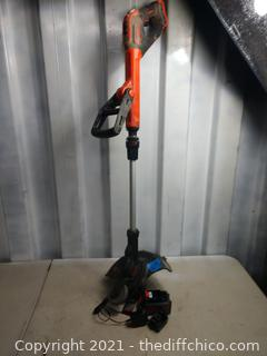 Battery powered trimmer - works