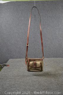 Dooney and Bourke Crossbody Shoulder Letter Carrier Handbag