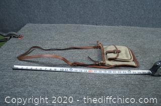 Dooney and Bourke Crossbody Shoulder Letter Carrier Handbag