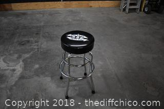 28 1/2in tall Pep Boys Swivel Stool