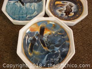 3 Eagle Plates