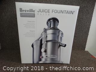 Breville Juice Fountain NIB