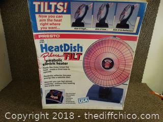 Heat Dish Plus Tilt Works