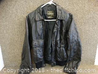 Topps Trowsers Leather Jacket