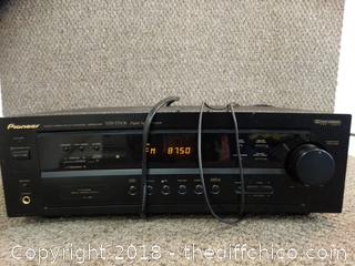 Pioneer Multi Channel Receiver Works