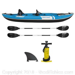 Driftsun Inflatable Voyager Kayak - Retail $500