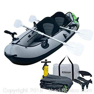 Elkton Outdoors Comorant 2 Person Inflatable Kayak - Retail $539