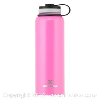 Pink 40qt Insulated Water Bottle