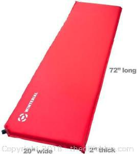 Winterial Red Self Inflating Sleeping Pad