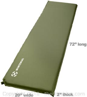 Winterial Green Self Inflating Sleeping Pad