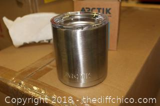 Artik Insulated Can Cup with Lid