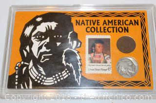 Native American Coin Collection in protective Case
