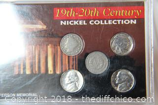 19th - 20th Century Nickel Collection