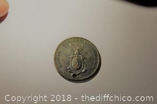 Old Centavo Coin