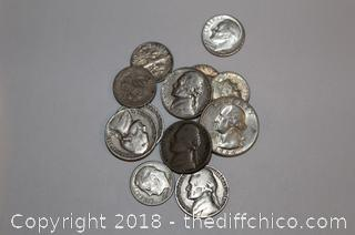 Lot of US Silver Coins