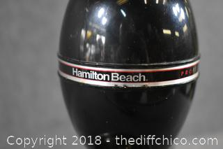 Working Black Hamilton Beach Mixer w/Cup