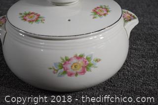 Vintage Hall Casserole Dish w/Lid